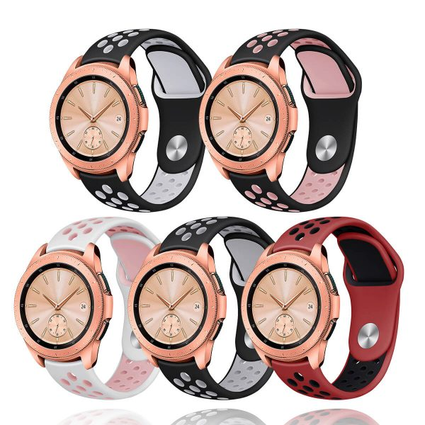 20mm-22mm-Silicone-Breathable-Watch-Band