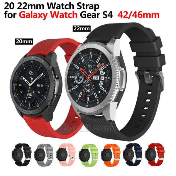 Samsung Galaxy Watch 42mm 46mm Gear S4 Watch Strap