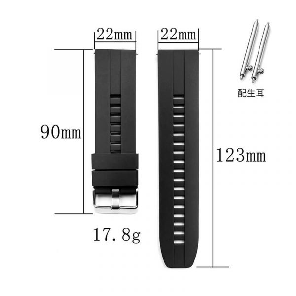 20mm-22mm-silicone-watch-strap-for-HUAWEI-WATCH-GT-2-pro-watch-band-size