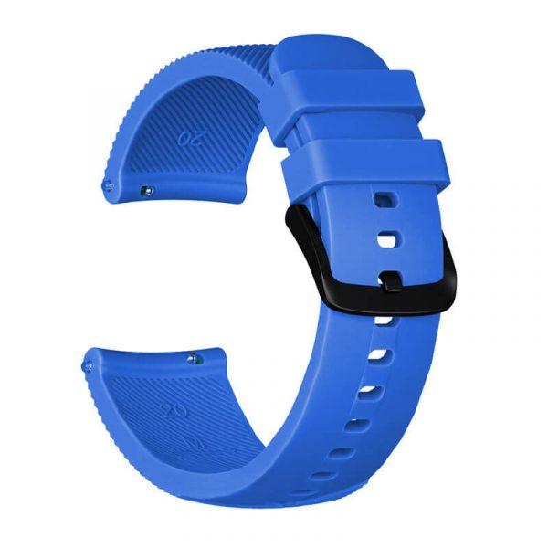 20mm-silicone-strap-for-Garmin-vivoactive-645-blue