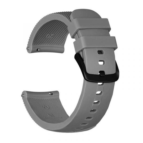 20mm-silicone-strap-for-Garmin-vivoactive-645-grey