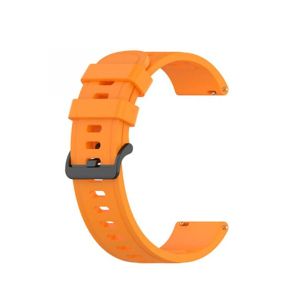 22mm silicone rubber watch band for Amazfit GTR 47mm