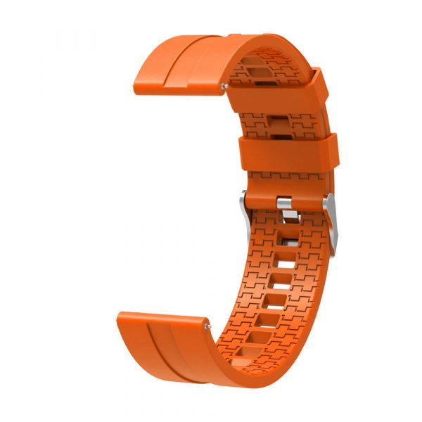 22mm silicone strap for HUAWEI WATCH GT 2 strap Orange