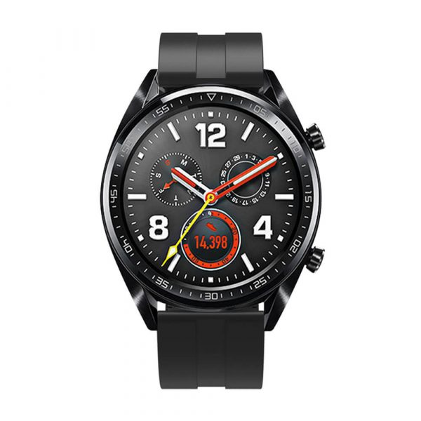 22mm silicone strap for Samsung Galaxy Watch 3 strap Black 3