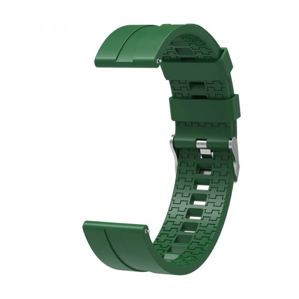 22mm silicone strap for Samsung Gear2 Green 4