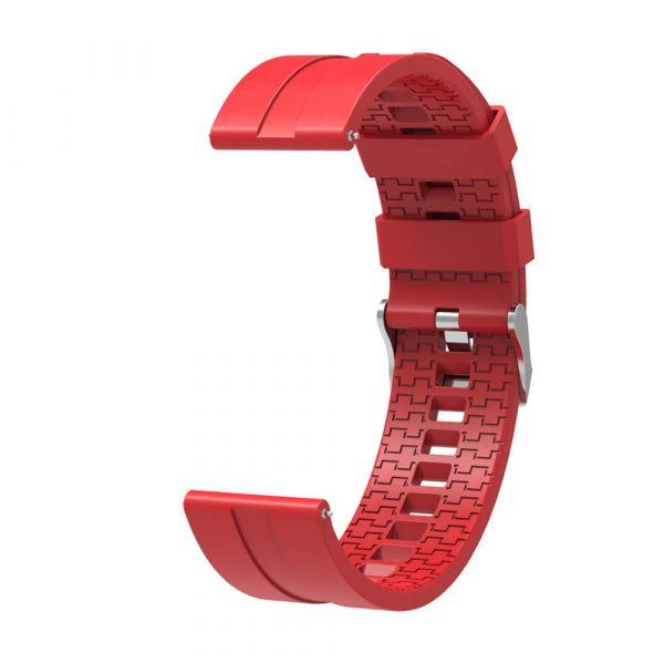 22mm watch straps red