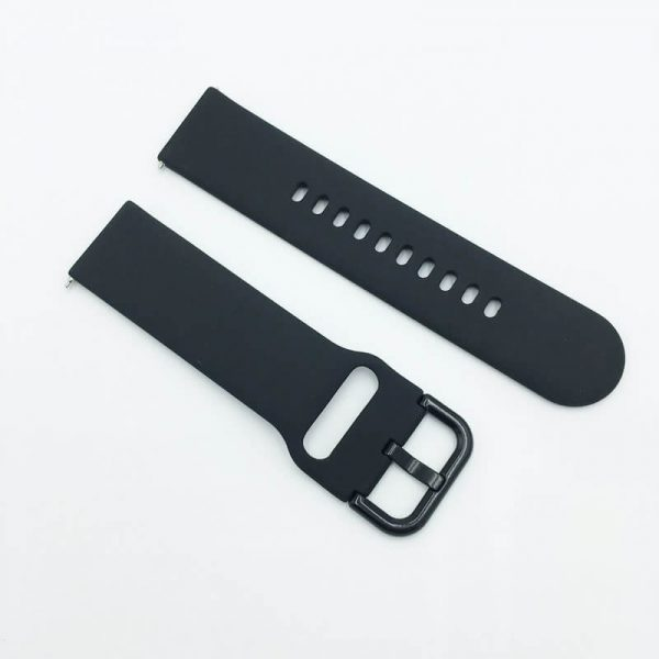 BS-GE-013-silicone-watch-strap-Black