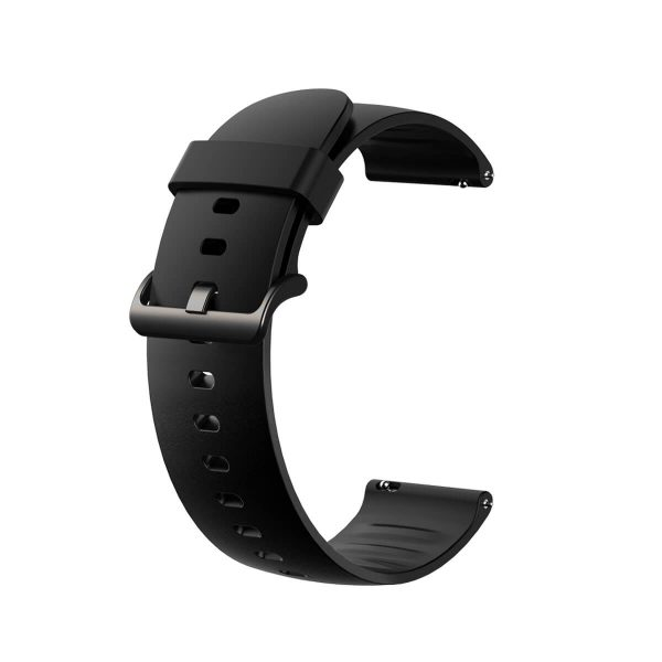 Black Silicone Watch Strap for Xiaomi Color Watch