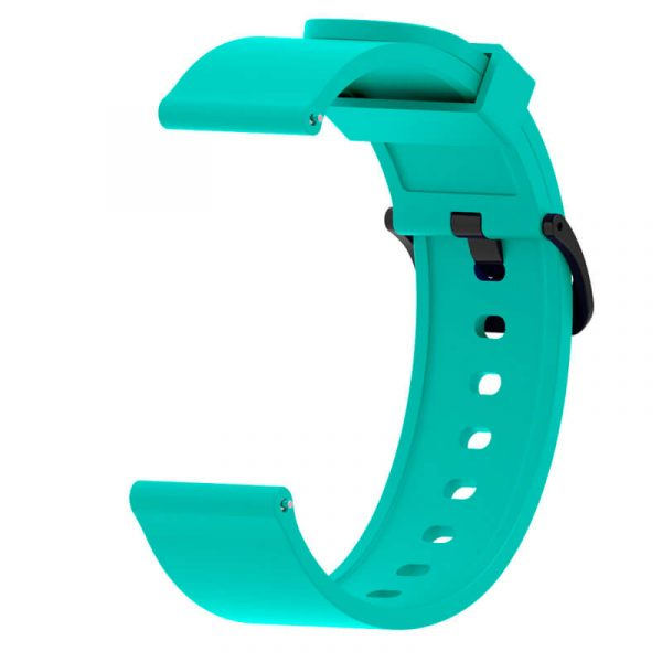 Mint Green 20mm silicone Printed Watch Strap for Amazfit 20mm