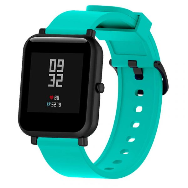 Mint Green2 20mm silicone Printed Watch Strap for Amazfit 20mm