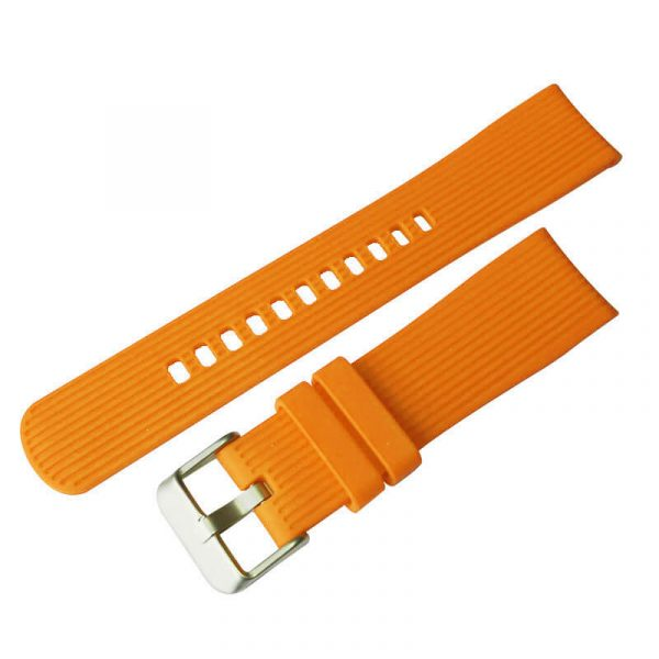 Orange watch band for Galaxy Watch Gear S4 42mm