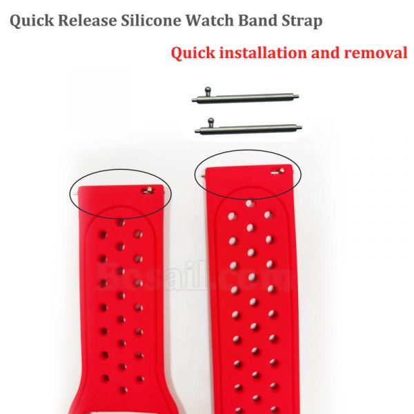 Quick-Release-Silicone-Watch-Band-Strap