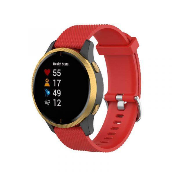 Red Garmin Venu Watch Band