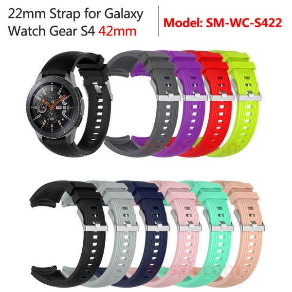 22mm Width Watch Band Strap for Galaxy Gear S4 46mm Watch