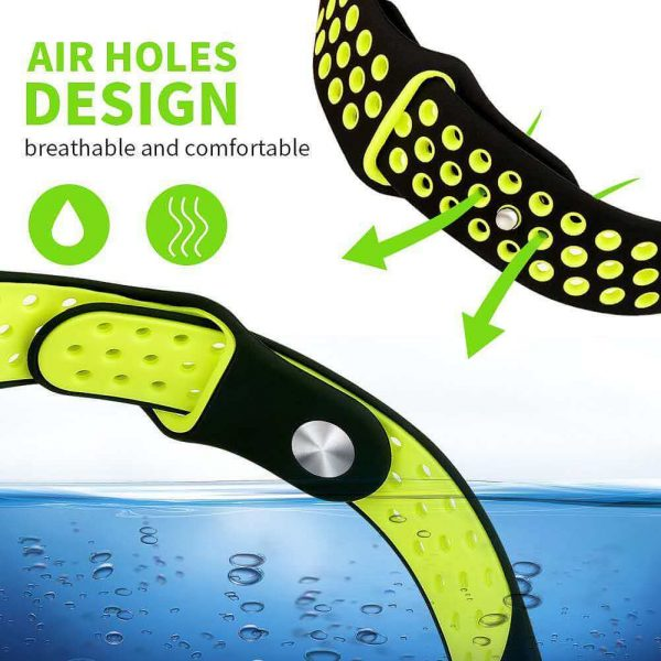 Two Colors Silicone Watch Band Strap