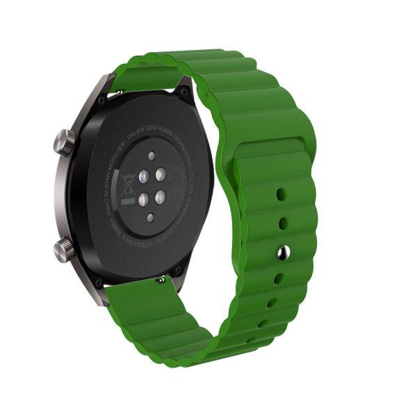 Wavy bump silicone watch strap 3