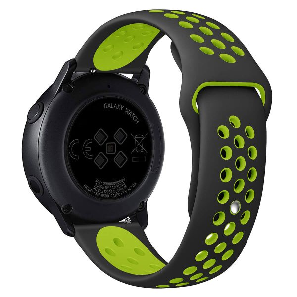 double colors Nike watch band with Apple pin buckle