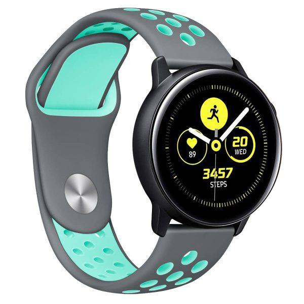 double colors Nike watch straps with Apple pin buckle