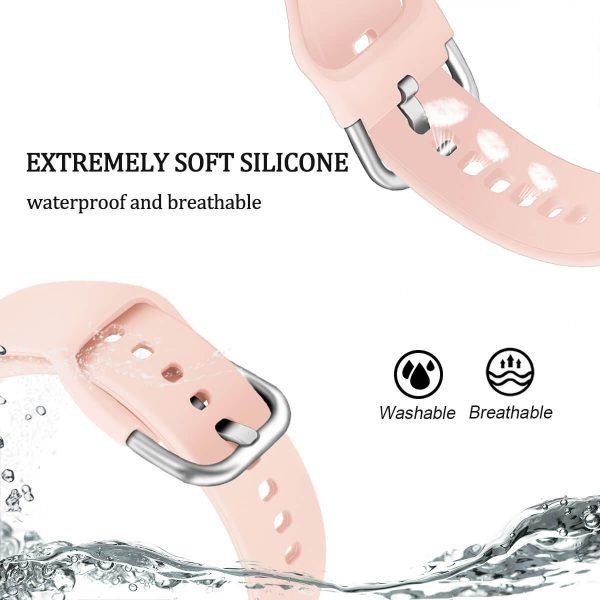 soft silicone waterproof watch band